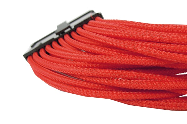 GELID Solutions | 24 PIN (EPS) SINGLE SLEEVED RED CABLE