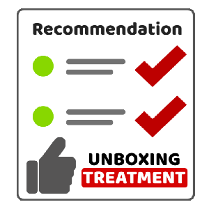 Unboxing Treatment Award