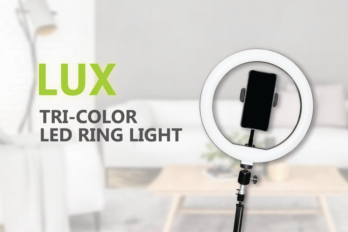 LUX LED Ring Light