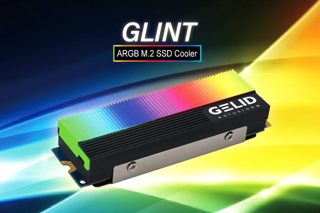 Glint ARGB M.2 SSD Cooler